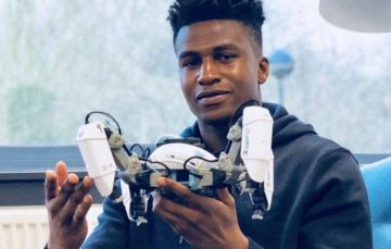 Meet Nigerian Silas Adekunle, the World's Smartest and Highest Paid Robotics Engineer