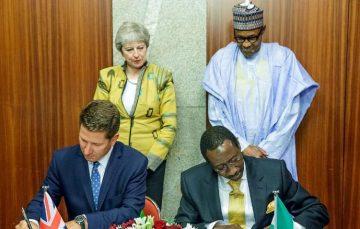 Weekly Roundup: British Prime Minister, Theresa May, Visits Nigeria