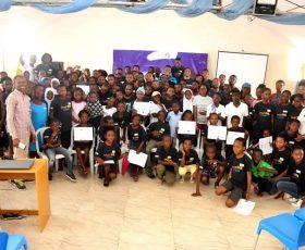 TechGen Mentors 150 African Children in 'TechGen CodeCamp 2018; Towards Technological Innovation'