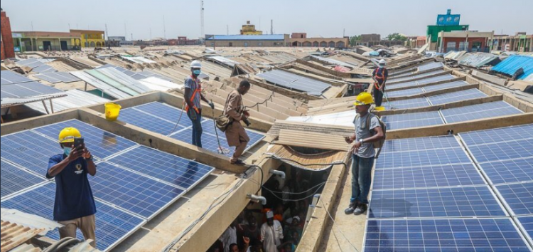 #EnergizingEconomiesInitiative: FG Installs Solar Panels, Gas Plants in Ariaria, Sabon Gari and other Business Places in Nigeria