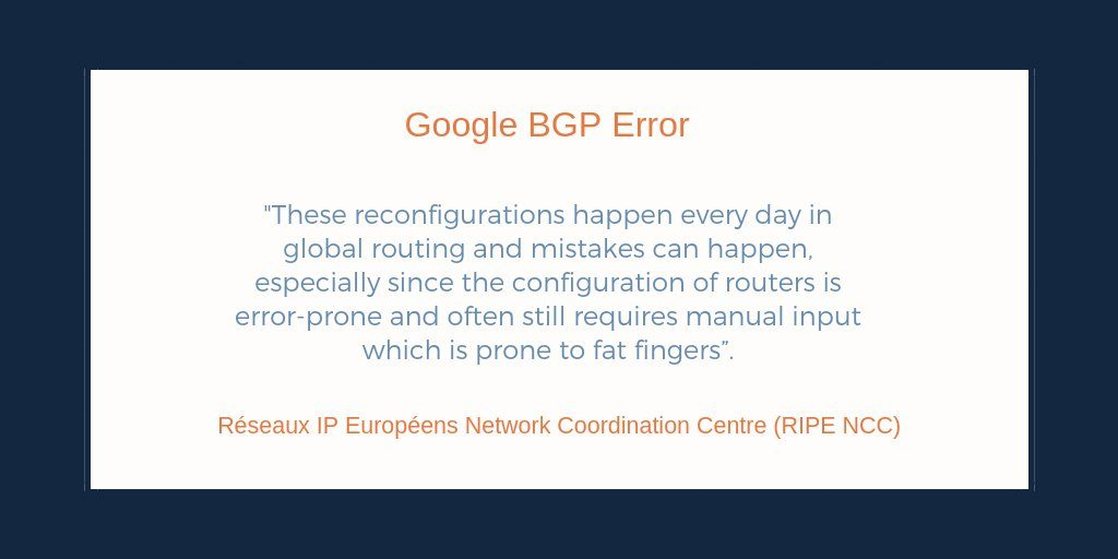 How Much Can the Mainone BGP Error Hurt and How do we Prevent a Recurrence?