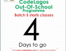 5th Batch of CodeLagos Out-of-School Programme Begins Next Week