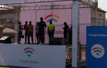 Happening Now: Google Station Launches Free WiFi in Wuse Market, Abuja