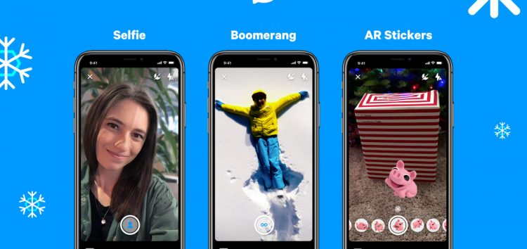 Facebook Messenger Introduces Boomerang and Selfie Camera Modes With AR Features