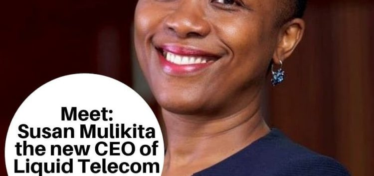 Meet Susan Mulikita, the New CEO of Liquid Telecom Zambia