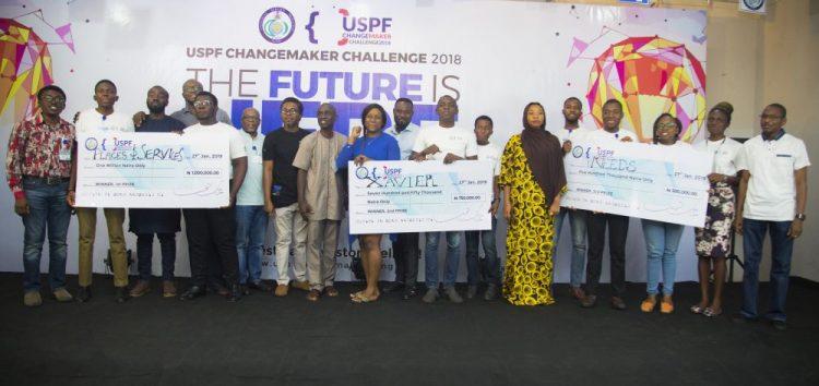 The USPF Changemaker Challenge 2018 rewards Hackathon Winners