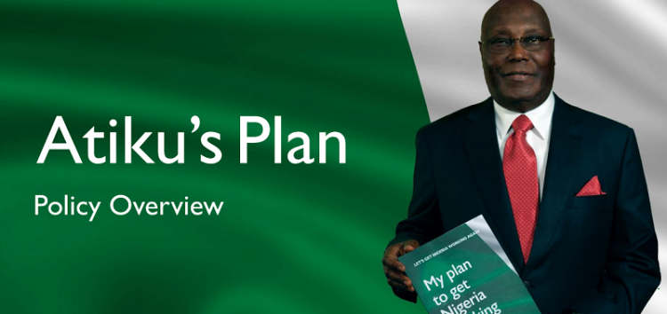 #LetsGetNigeriaWorkingAgain: Atiku Abubakar's Policy Document Shows Little Intentions for the Nigerian Tech Space