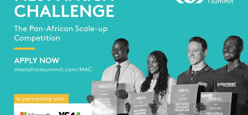 Applications Now Open for the $50,000 2019 MEST Africa Challenge