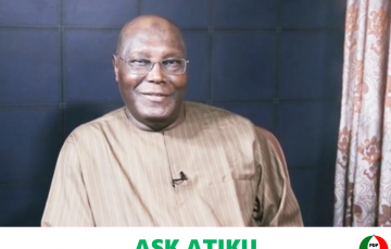 This AI-Powered Technology Allows You Ask PDP's Atiku Abubakar Any Question and Receive Instant Video Response