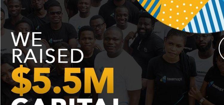 Tosin Eniolorunda's TeamApt Secures $5.5 Million Series A Funding
