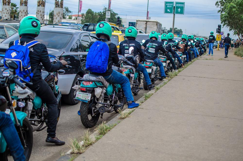 Gokada bike men Gokada and Max.ng Make Case for Exemption from Lagos Ban