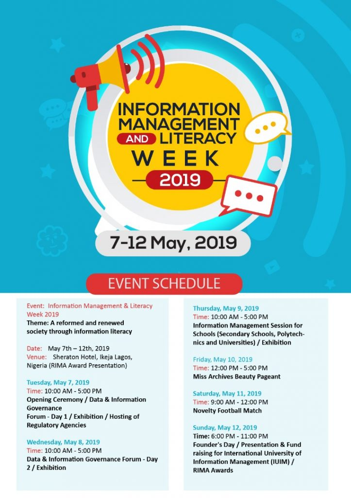 IIM Africa Unveils Plans for Information Management and Literacy Week 2019