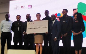 6 Nigerian Fintechs Win $4 million Grants at the EFInA Financial Inclusion Conference