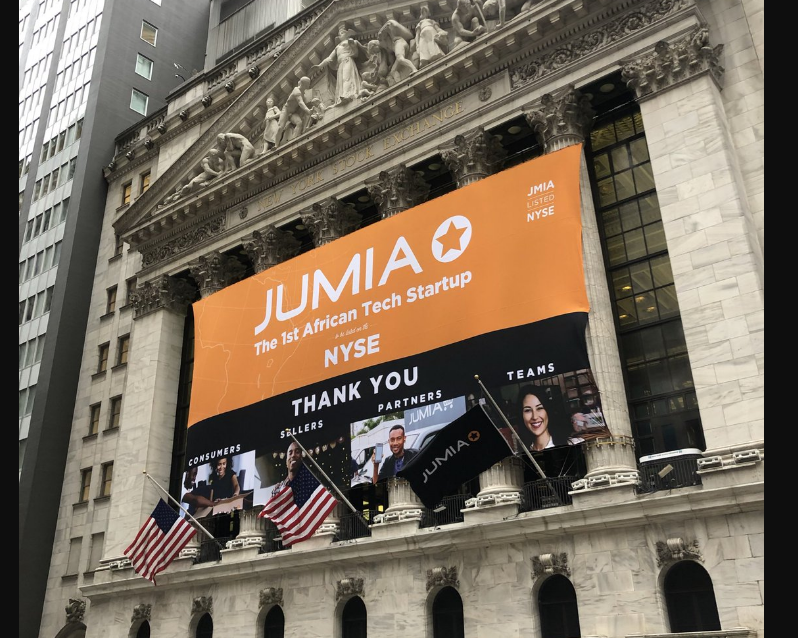 Jumia Successfully Debuts on the Stock Market as its Share Price Soars above $20