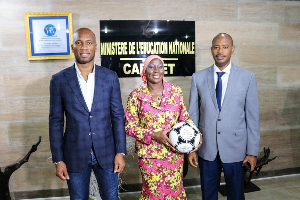 Chelsea Football Legend Didier Drogba Leads Campaign for Digital Literacy in Africa