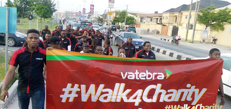 ICT Company, Vatebra Limited Holds 2nd Edition of Walk4Charity Initiative in Lagos as Part of its CSR