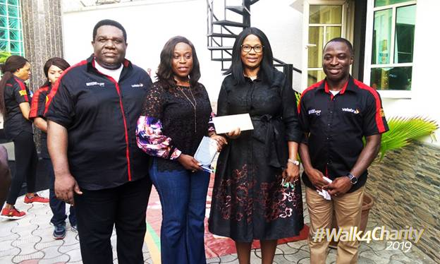 ICT Company, Vatebra Limited Holds 2nd Edition of #Walk4Charity Initiative in Lagos