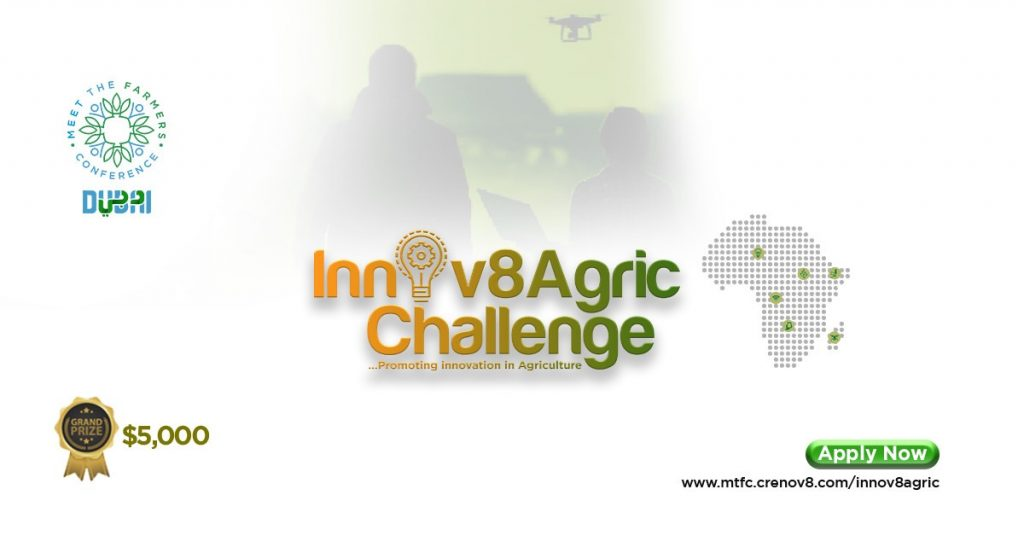 Agritech Startups Can Now Apply for Innov8Agric Challenge to Win $5,000 Funding