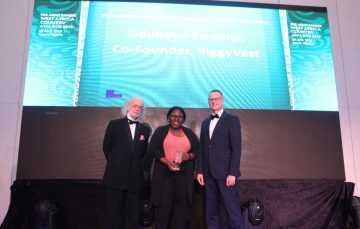 PiggyVest COO Odunayo Eweniyi Named Entrepreneur of the Year at Wealth and Society West Africa Awards