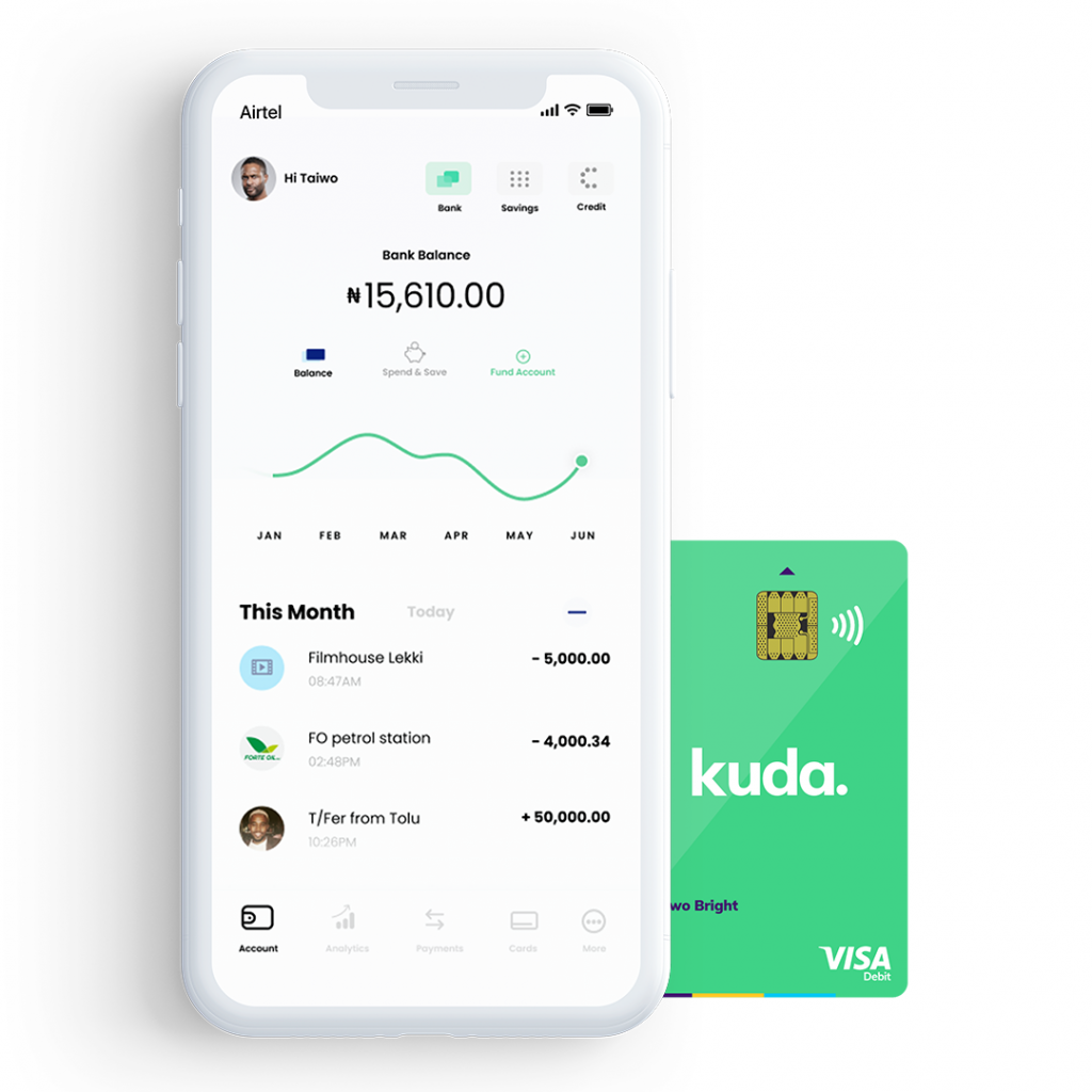 Nigerian Fintech Kudimoney Receives Licence From Central bank of Nigeria, Becomes Kuda