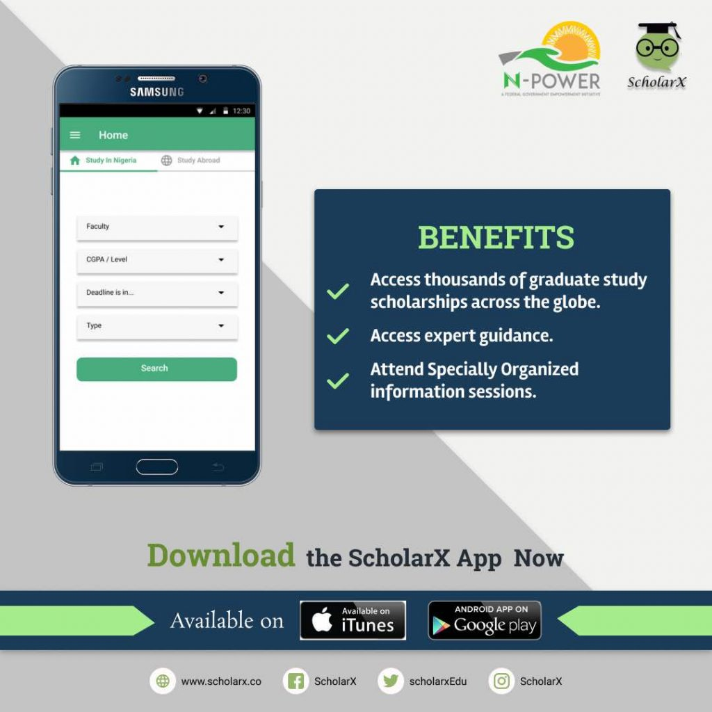 Benefits of the ScholarX app