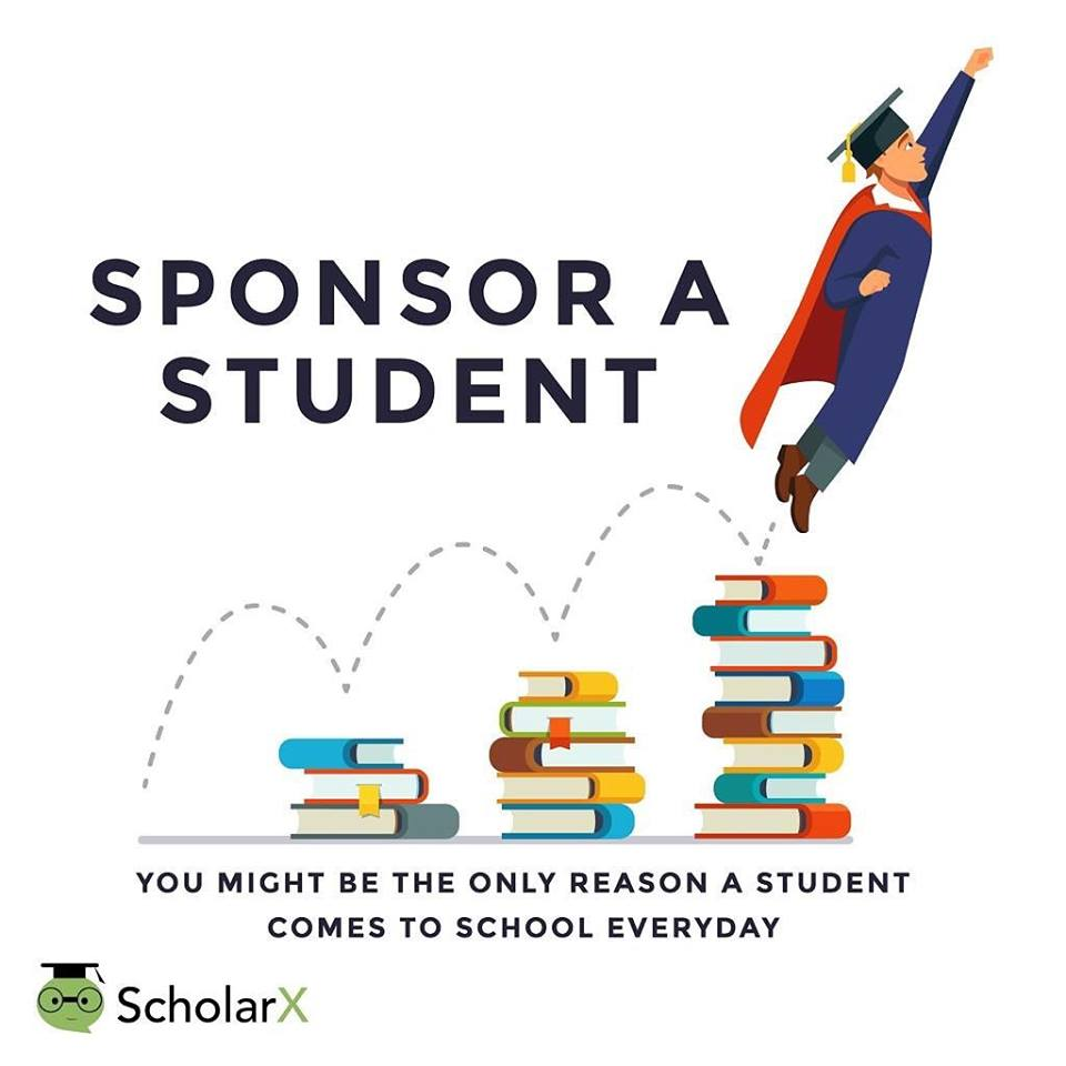 ScholarX calls for sponsors for students