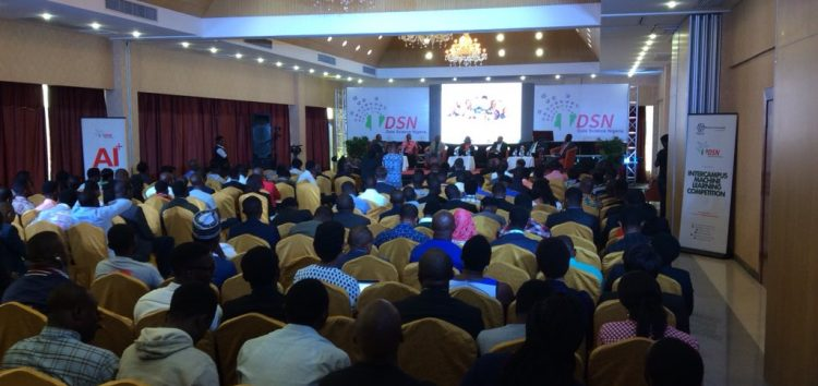 Artificial Intelligence bootcamp held by Data Science Nigeria in Lagos