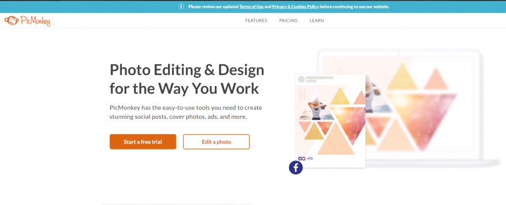 5 Best Online Easy Image and Graphic Editors for Unskilled Users.