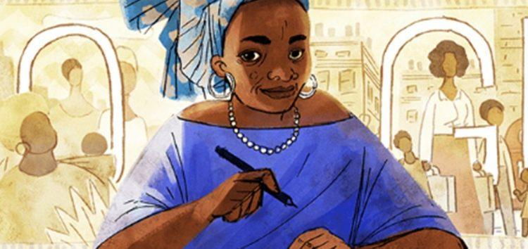 Google Doodles Celebrates Nigerian Author Buchi Emecheta on Her 75th Posthumous Birthday