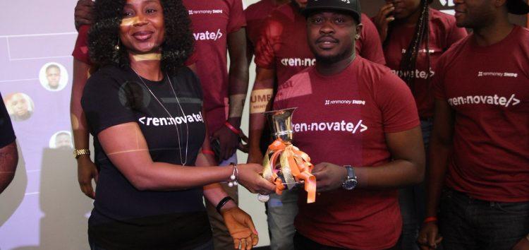 Oluwatobi Boshoro at Rennovation hackathon