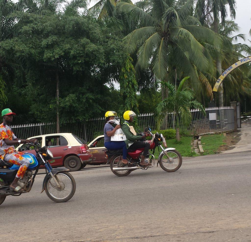 Orider in Ibadan