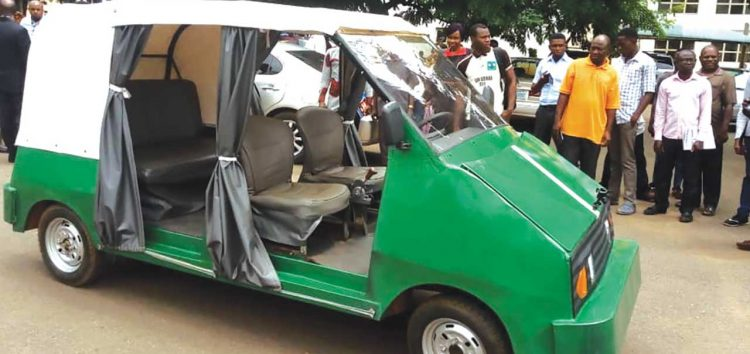 UNN's Mechatronic Team Produces First Nigerian-Made Electric Car
