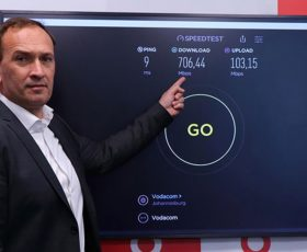 Vodacom Demonstrates Africa's First 5G Live Data Session Ahead of Official 5G Spectrum Allocation for Commercial Use