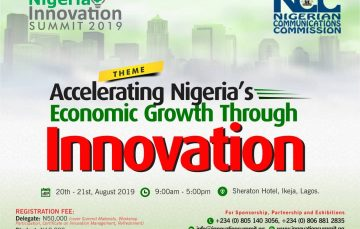 NCC Supports Nigeria Innovation Summit 2019; Top Speakers Announced