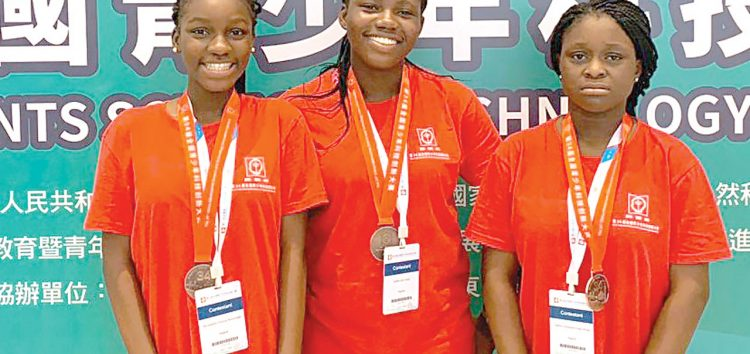 Doregos Schoolgirls Win Third Place in China Adolescents Science and Technology Innovation Contest (CASTIC) in Macao