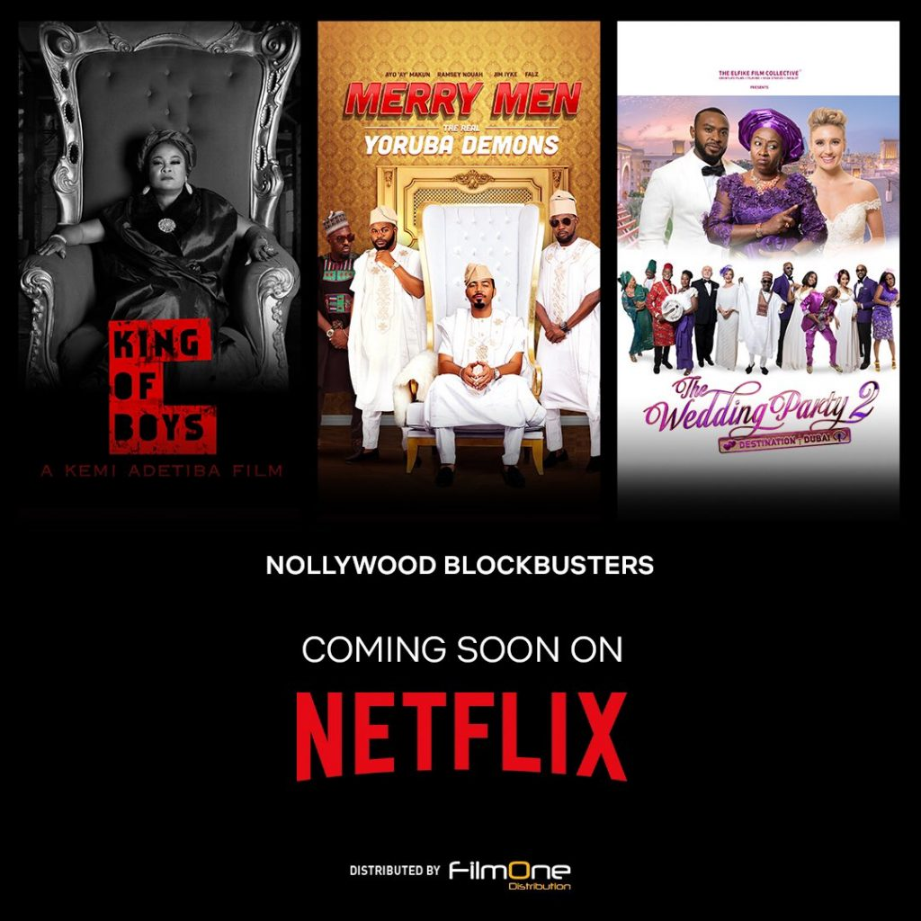 Nollywood movies now on Netflix