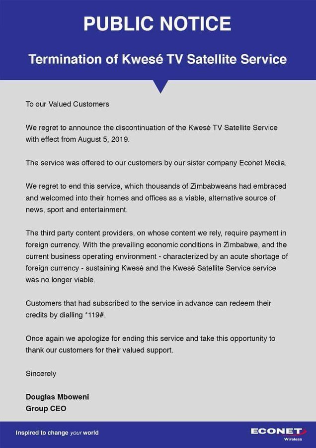 kwese pays subscribers