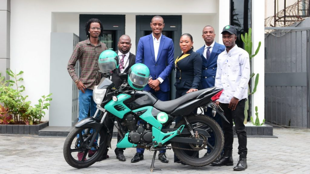 Abiodun Animashaun and the Gokada team