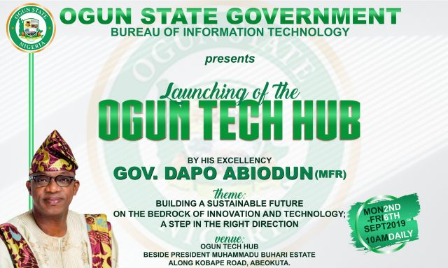 Ogun State Officially Launch Ogun Tech Hub to Support Technological Inclusion