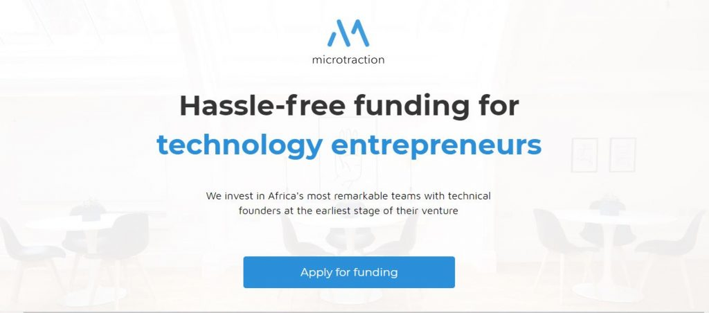 Microtraction is an early stage angel investment firm
