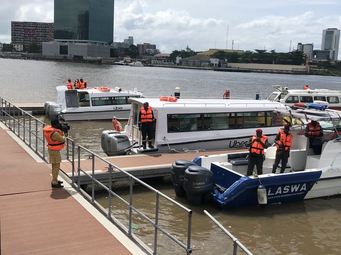 Uber Officially Launches Boat Services 'UberBOAT' in Lagos