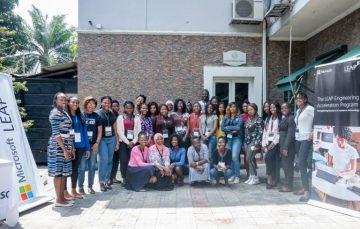 10 Nigerian Women Emerge as Finalists for Microsoft's LEAP Program