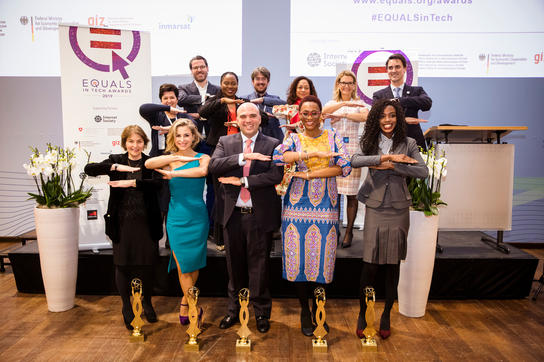 Oreoluwa Lesi's W.TEC and 4 Other Organizations Won the 2019 Equals in Tech Awards in Berlin