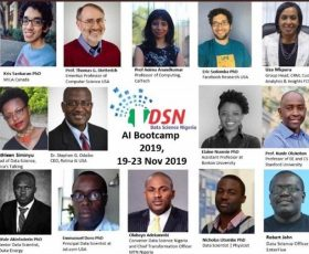 Microsoft Returns as Sponsor for Data Science Nigeria's Artificial Intelligence Bootcamp 2019