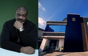 Social Media Roundup: Fans Celebrates with Mavin Boss Don Jazzy as he Unveils the Mavin Mansion.