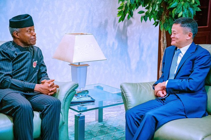 Alibaba Founder, Jack Ma Arrives Nigeria, Advocates Support for Young Entrepreneurs at Nigerian Digital Economic Summit