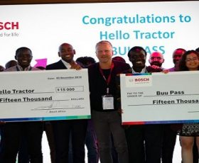 Nigerian Agritech Startup Hello Tractor Wins $15,000 in Bosch Africa Smart Mobility Competition