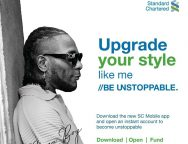 Standard Chartered Bank Unveils Burna Boy as Digital Bank Brand Ambassador