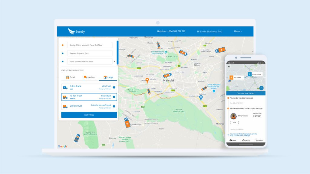 Kenyan Logistics Startup Sendy Raises $20M in Series B Funding Round