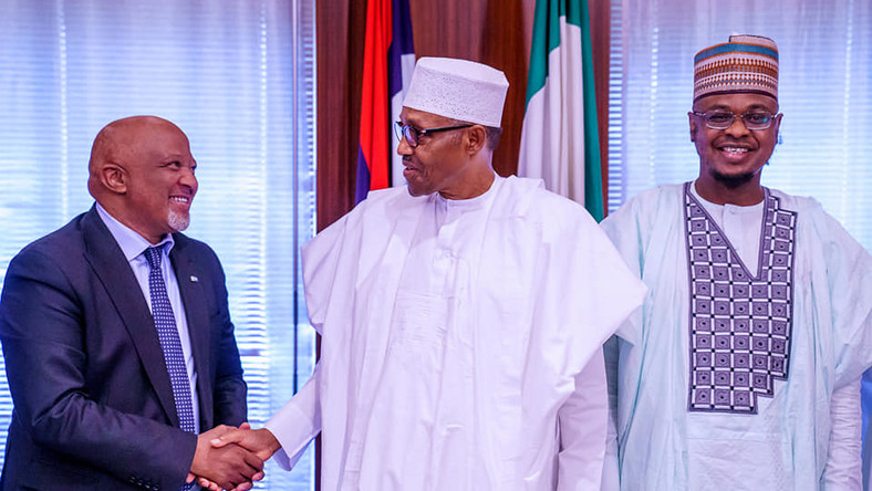 MTN executives meet PMB to declare interest in investing in Nigeria's Network and systems